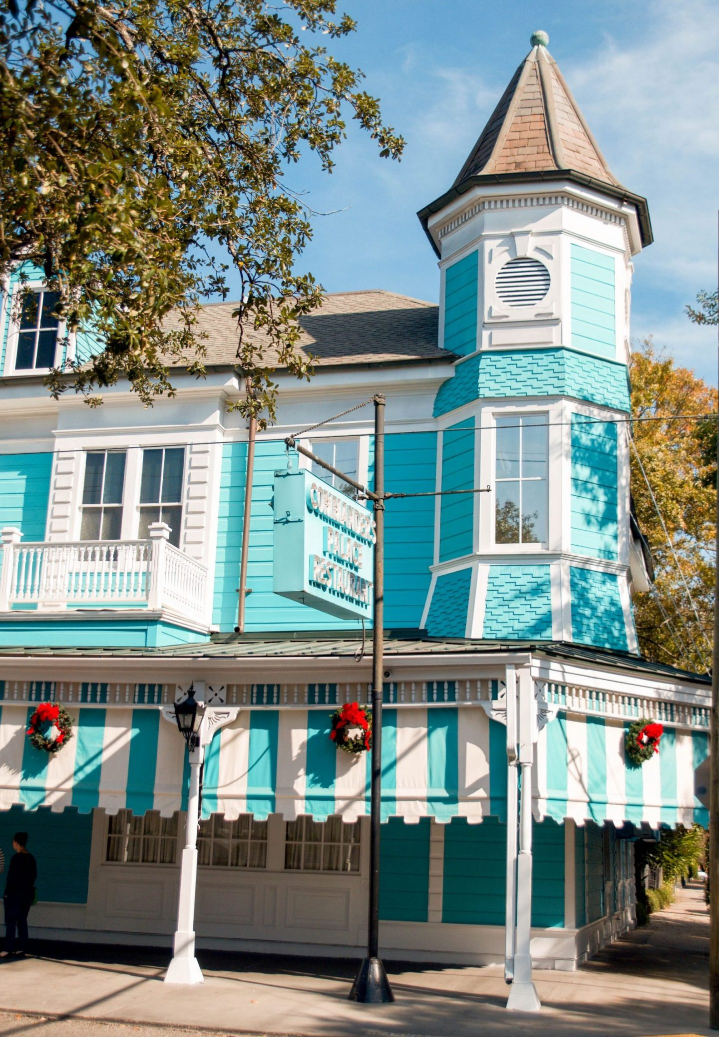 winter weekend in new orleans - new orleans in december - commander's palace at christmas