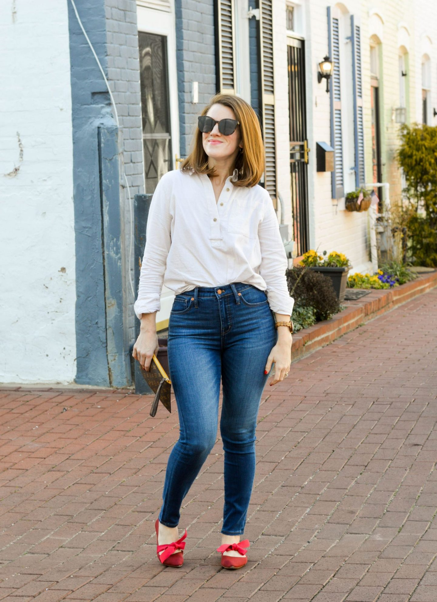 finding the right fit jeans - madewell jeans worth it - madewell curvy high-rise jeans - madewell tencel jeans
