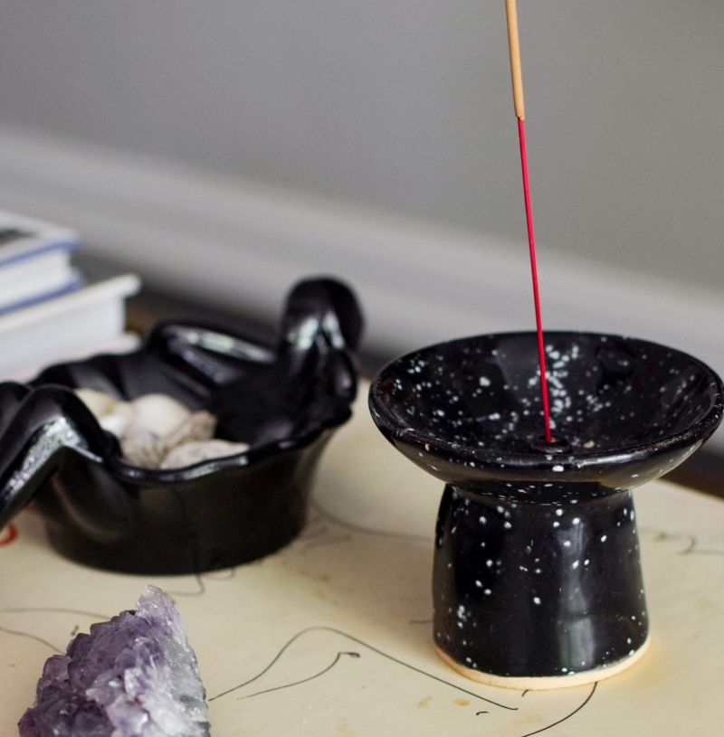 Embracing the Hippie Side of Things: Etsy Modern Incense Holder