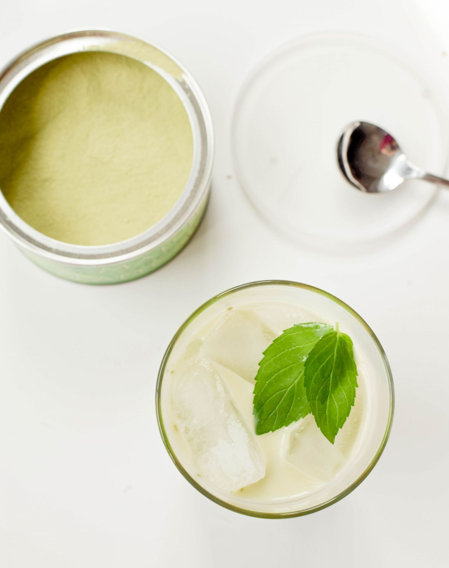 iced mint matcha latte recipe - trader joe's matcha green tea latte mix