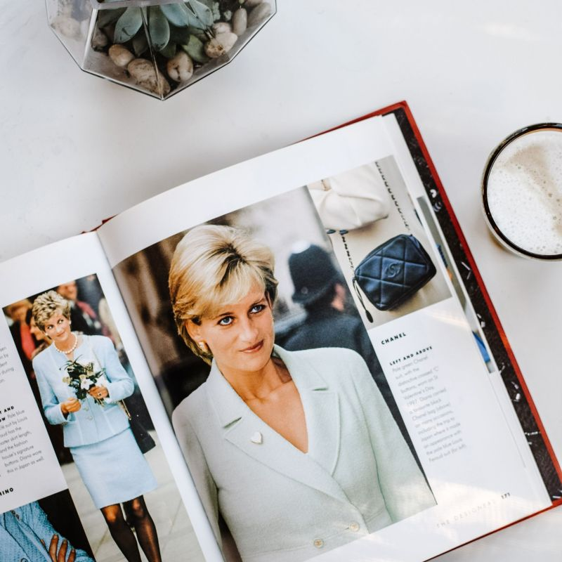 Best Princess Diana Coffee Table Book: Dressing Diana
