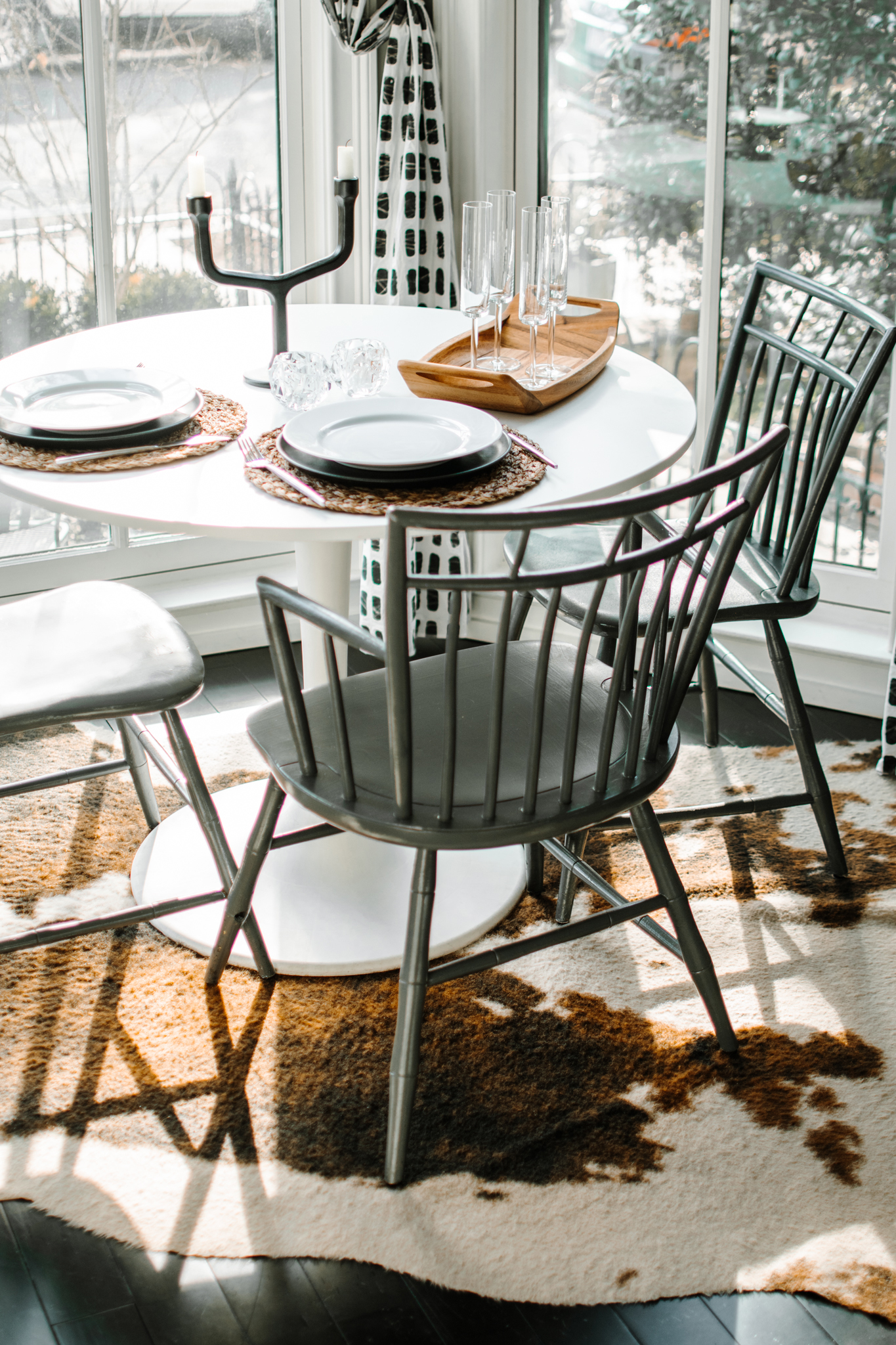 allmodern dining area - small space dining