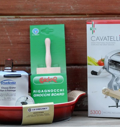 Baked Gnocchi with Two Cheeses and Walnuts [Bertolli Giveaway]