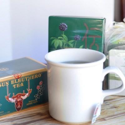 Sun Chlorella Sun Eleuthero Tea