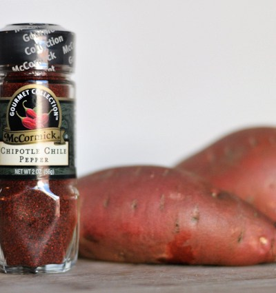Whipped Chipotle Sweet Potatoes