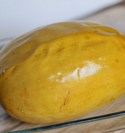 How to Roast a Whole Spaghetti Squash