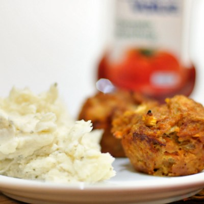 Perfect Mini Chicken Meatloaves