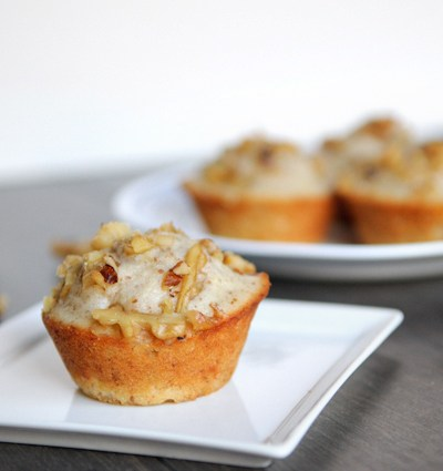 Banana Walnut Buttermilk Muffins