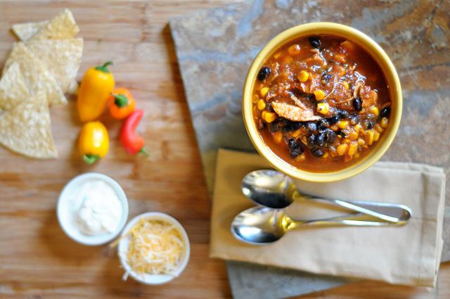 The Most Delicious Red Chicken Chili Recipe from @heathersdish HeathersDish.com