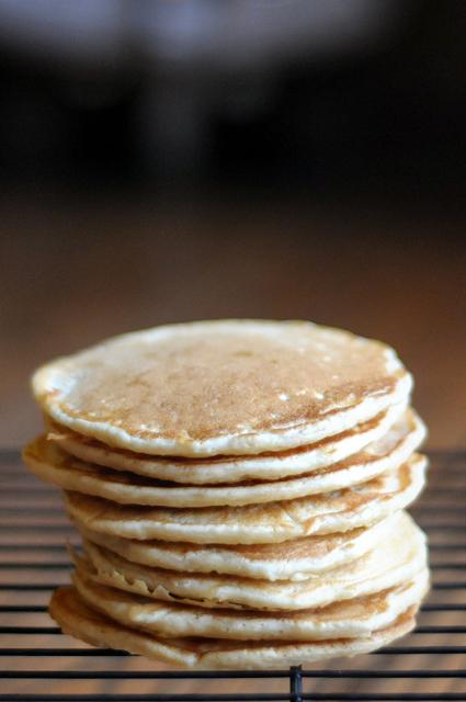 Saturday Morning Pancake Stack