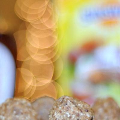 Maple Peanut Butter Date Balls