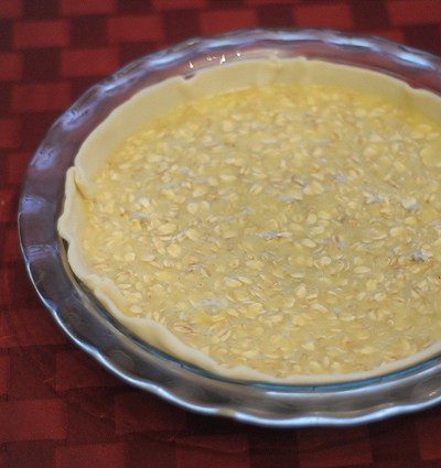 Chocolate Chip Oatmeal Pie