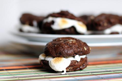 Rocky Road Sandwich Cookies