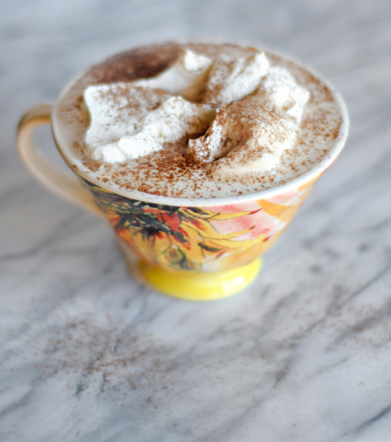 Homemade White Chocolate Mocha from @HeathersDish