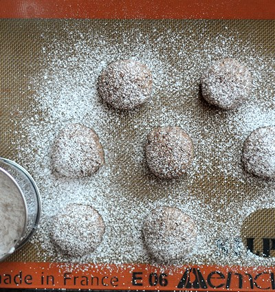 Rich & Chewy Chocolate Almond Cookies [Gluten-Free] || Heather's Dish