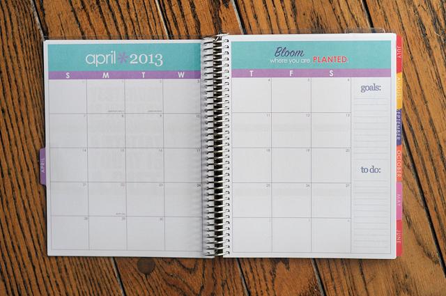 Planning Life: A Tour Through My Erin Condren Planner || Heather's Dish