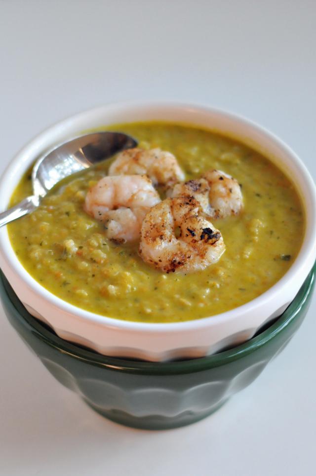 Blog Love: Creamy Zucchini and Rice Soup || HeathersDish.com