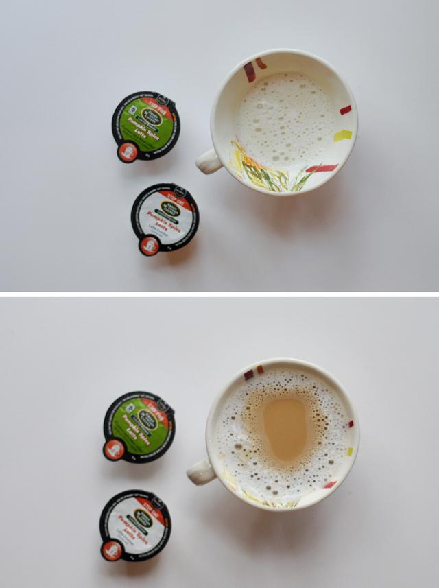 Green Mountain Pumpkin Spice Latte + Keurig Vue Giveaway || HeathersDish.com
