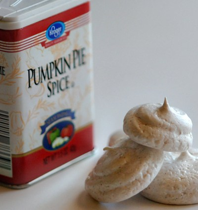 #LiveBoldly Day 8: Spice Something Up with Pumpkin Spice Meringues
