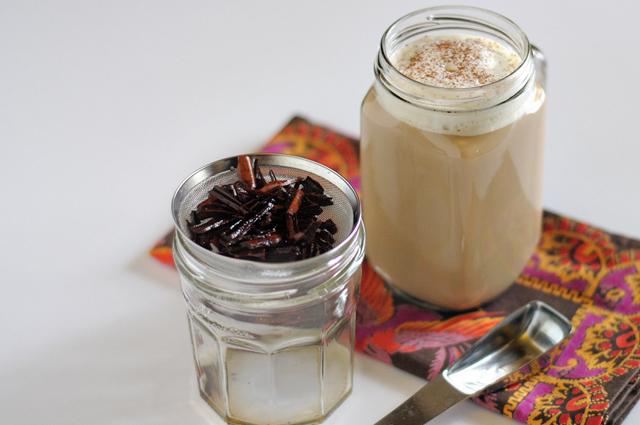 Homemade Cinnamon Dolce Latte + The Best Part of Friendship || HeathersDish.com #thebestpart #starbucksknockoff #latte