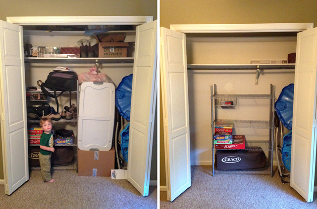 #LiveBoldly Day 7: Purge That Big Scary Closet || HeathersDish.com #31days