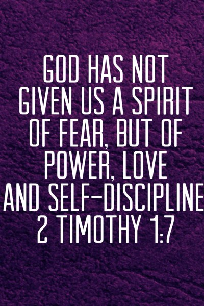 2 Timothy 1:7 - Biblical Boldness #liveboldly #31days