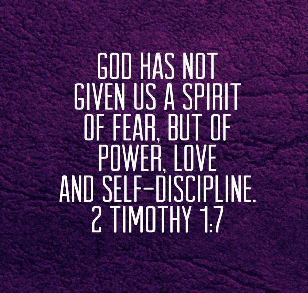 2 Timothy 1:7 - Biblical Boldness #liveboldly #31days