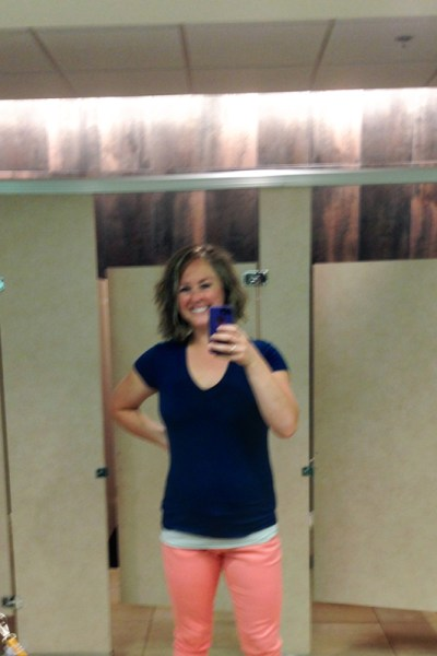 #LiveBoldly Day 2: Wear Colored Denim || HeathersDish.com #31days