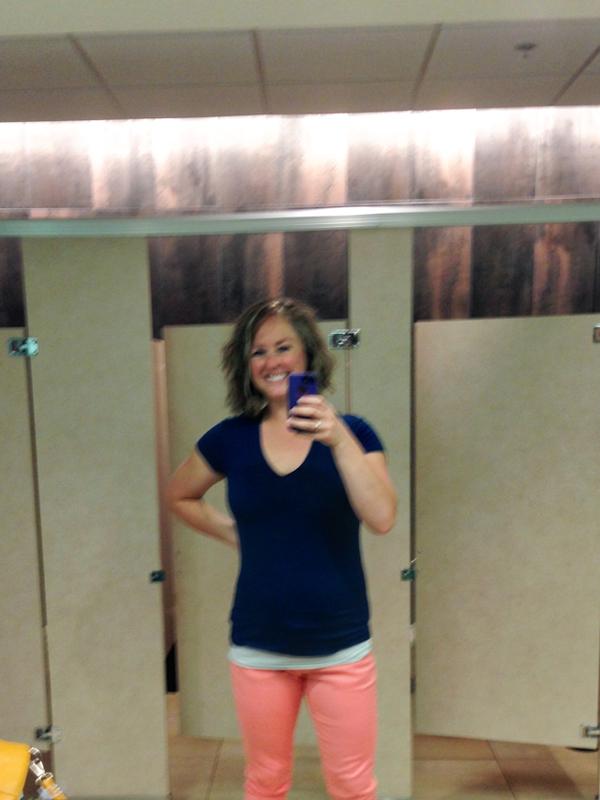 #LiveBoldly Day 2: Wear Colored Denim     HeathersDish.com #31days