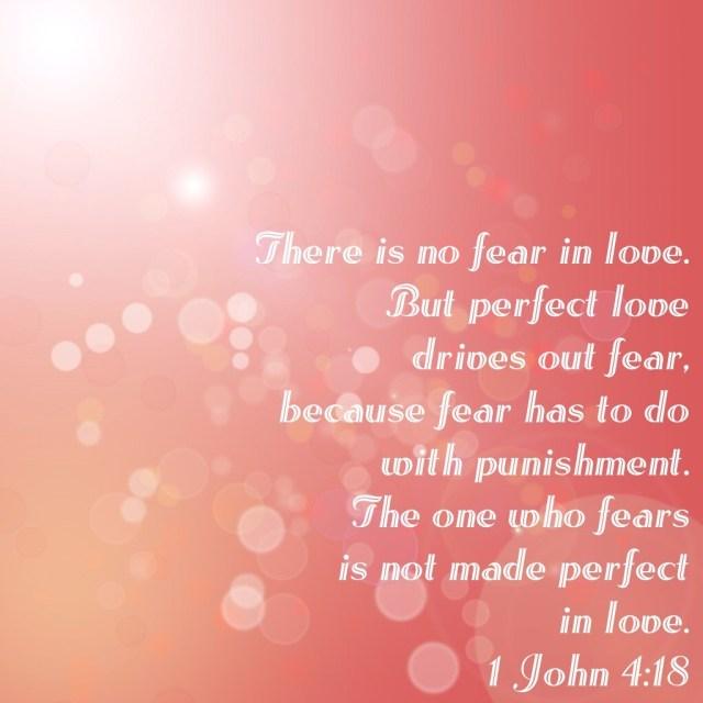 #LiveBoldly Day 27: Scriptural Boldness in 1 John 4:18 #31days HeathersDish.com