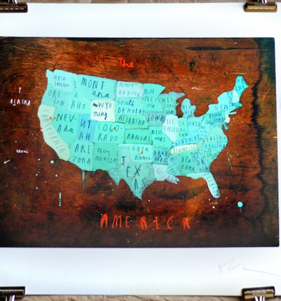 Bourbon & Boots Love: Traveler's Map of America