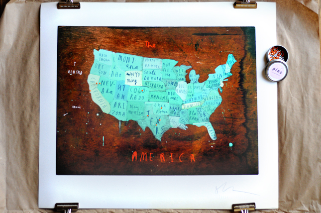 Bourbon & Boots Love: Traveler's Map of America || HeathersDish.com #bourbonandboots