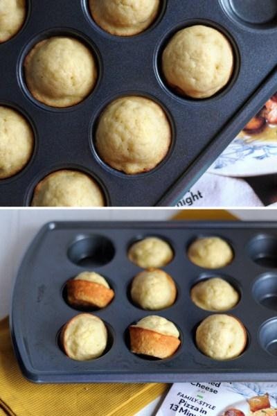 Coconut Oil Banana Muffins || HeathersDish.com