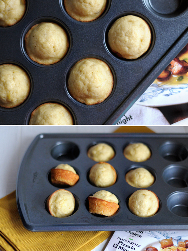 Coconut Oil Banana Muffins || HeathersDish.com