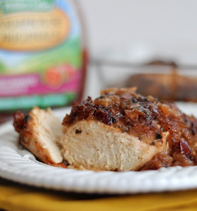 Pineapple Pomegranate Baked Chicken Breasts