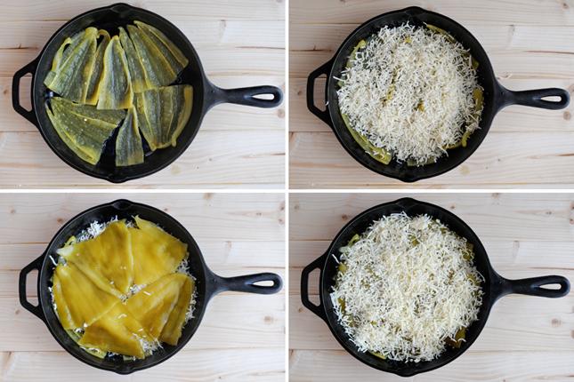 Cheesy Chile Relleno Skillet || HeathersDish.com