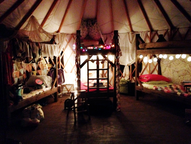 The Time I Went Glamping || HeathersDish.com #glamping #travel #glampingAR