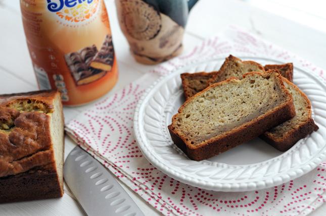 Toffee-Scented Banana Bread    HeathersDish.com #sponsored #IDelight