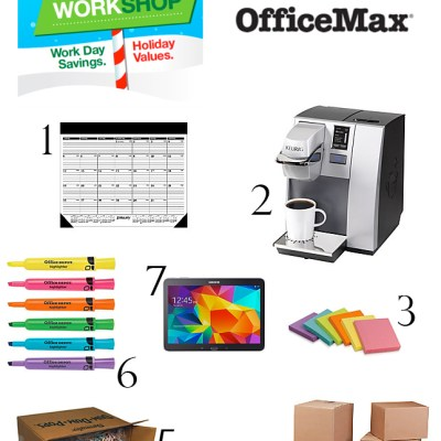 Simple Holidays with Office Depot: Your Holiday Workshop