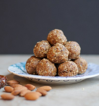 Nutty date balls are a healthy snack or dessert option that tastes anything but. Utilize the natural sweetness from pitted medjool dates to make a scrumptious treat you'll feel good about eating.