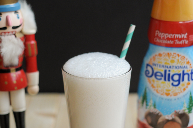 Peppermint Truffle Italian Cream Sodas || HeathersDish.com #IDelight #sponsored
