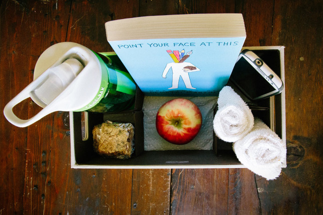 Newborn nursing box - a great way to have everything you need at your fingertips while nursing that sweet baby!