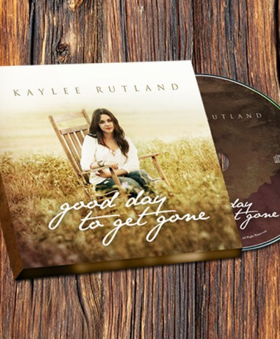 Kaylee Rutland's A Good Day to Get Gone album cover