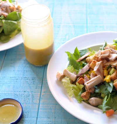 The BEST Honey Mustard Dressing