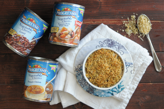 20-minute cassoulet made with Progresso soups is a cozy, healthy, hearty meal that can be made for lunch or dinner. #foodforyourmood #sponsored