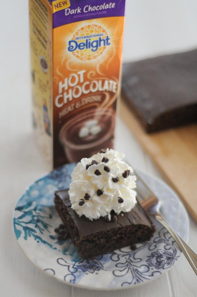 Mexican Hot Chocolate Snack Cake #shareyourdelight #sponsored @InDelight