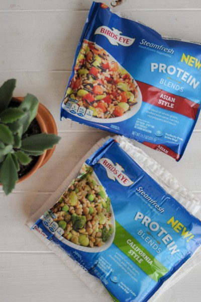 make your health resolutions come true with these delicious protein blends from @RealBirdsEye! #sponsored