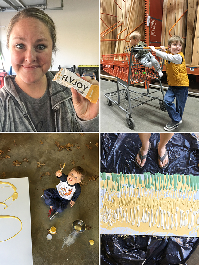 creating your own art with @flyjoy @heathersdish #goflyjoy