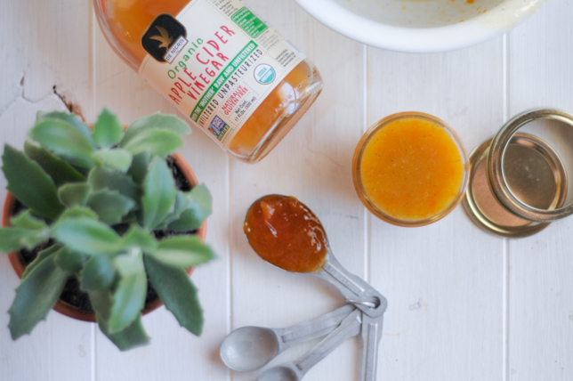Apricot Vinaigrette is a fantastic dressing for any salad, and can be made year-round thanks to your favorite apricot jam. @heathersdish