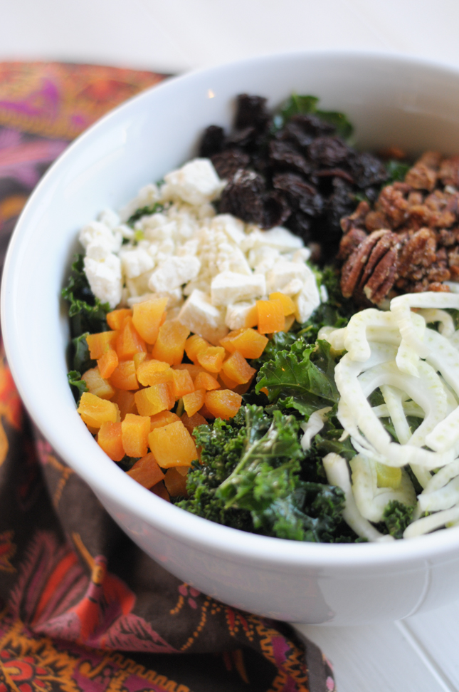 The Best Kale Salad Ever @heathersdish